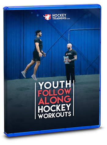 Youth Follow Along Hockey Workout Product Cover