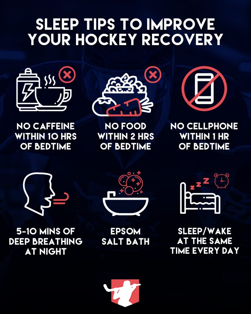 Hockey Sleep Infographic
